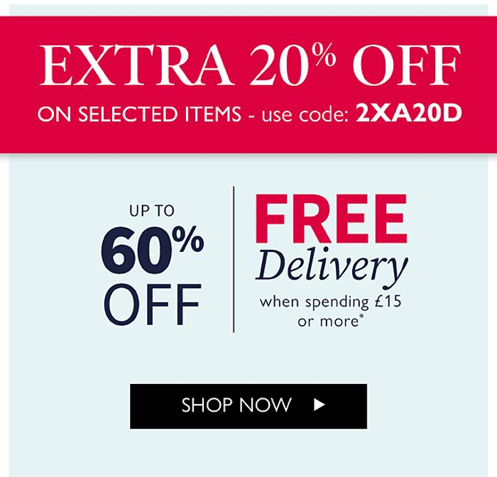 Coopers of Stortford - EXTRA 20% off Winter Clearance + FREE Delivery