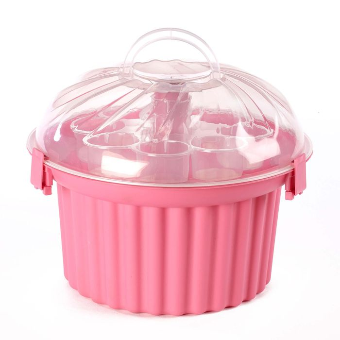 Cheap Pink Cupcake Cake Carrier - Save £2!