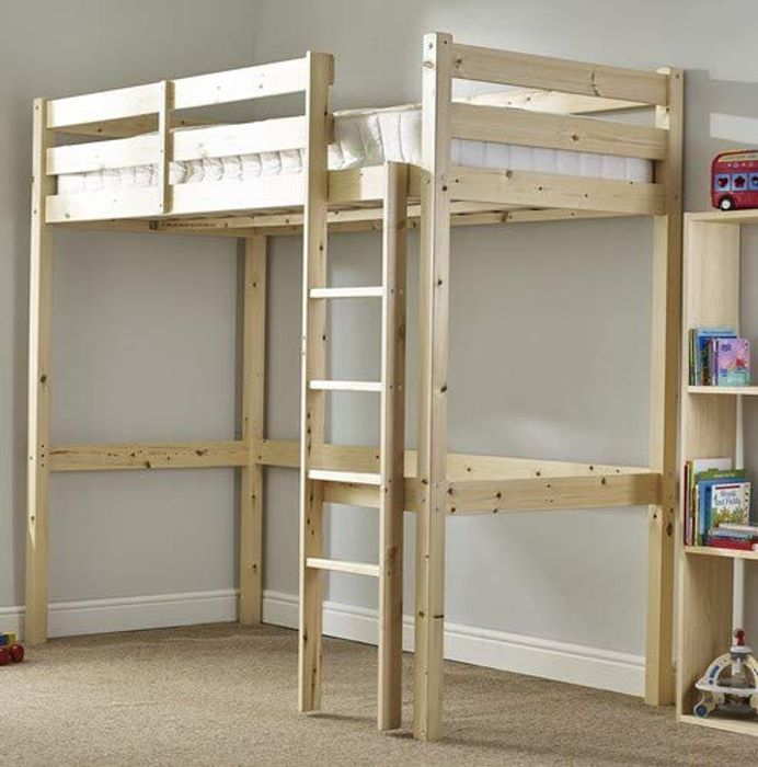 Strictly Beds and Bunks - Heavy Duty Loft Bed (CAN BE USED by ADULTS)