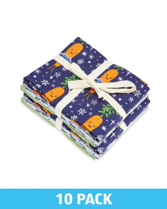 Kevin Christmas Fabric Fat Quarters