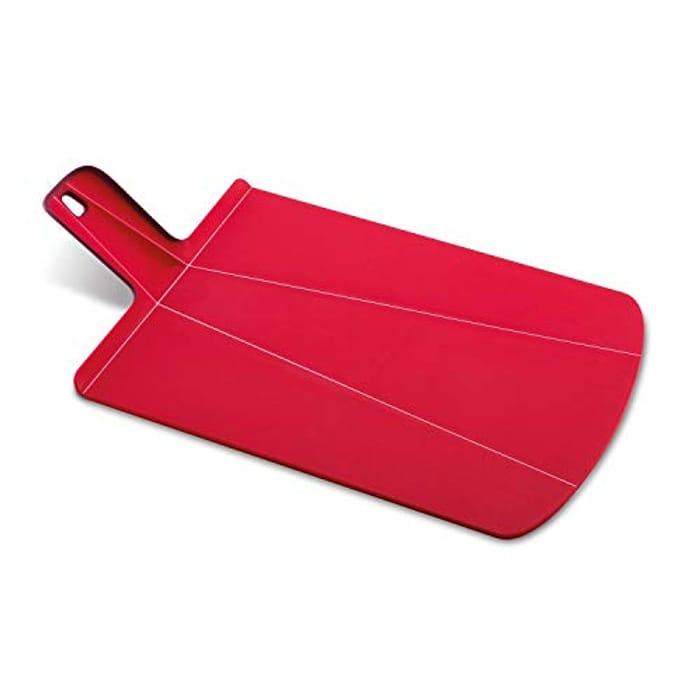 Joseph Joseph Chop2Pot Plus, Folding Chopping Board, Large - Red