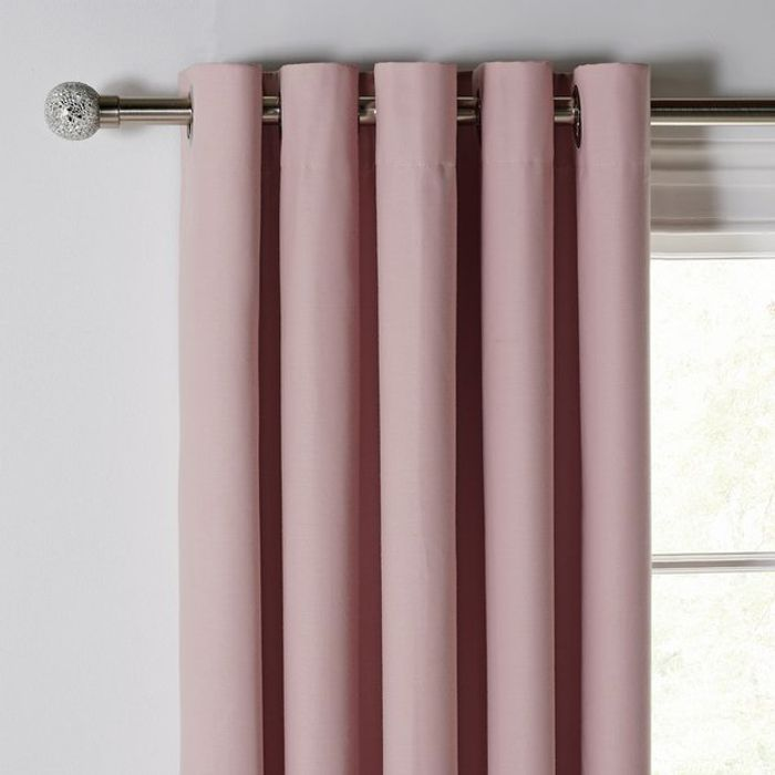 Pink Blackout Curtains
