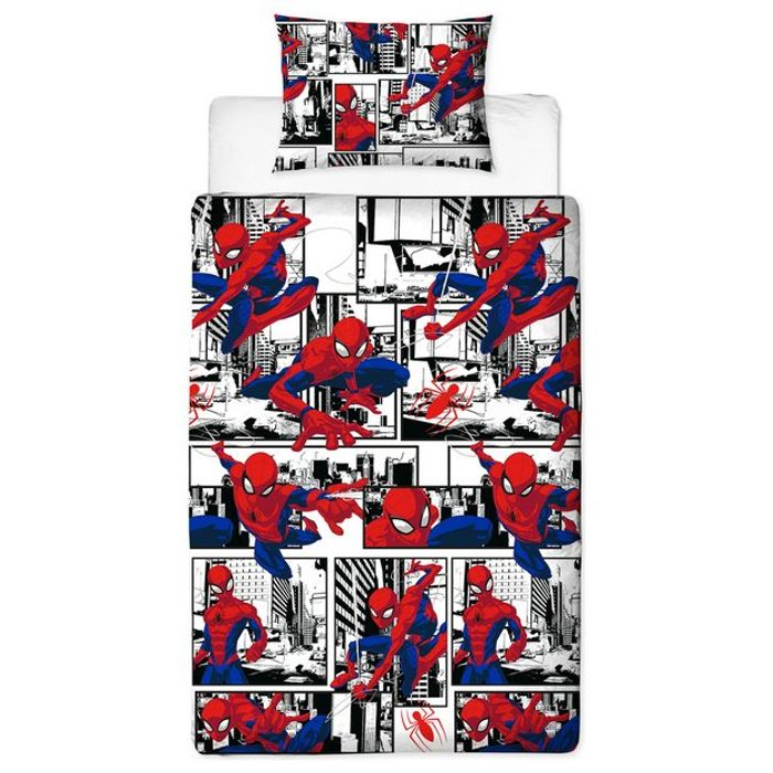 Cheap Spider Man Single Duvet Set on Sale From £15 to £11.25