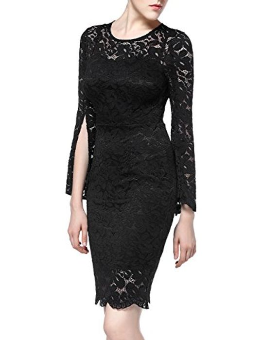 Vanis Vintage Dress Lace Dress - Size M