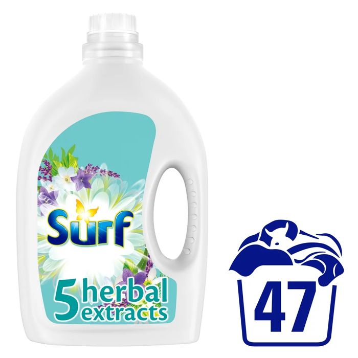 Surf 5 Herbal Extracts Liquid Detergent 47 Washes 1.645L