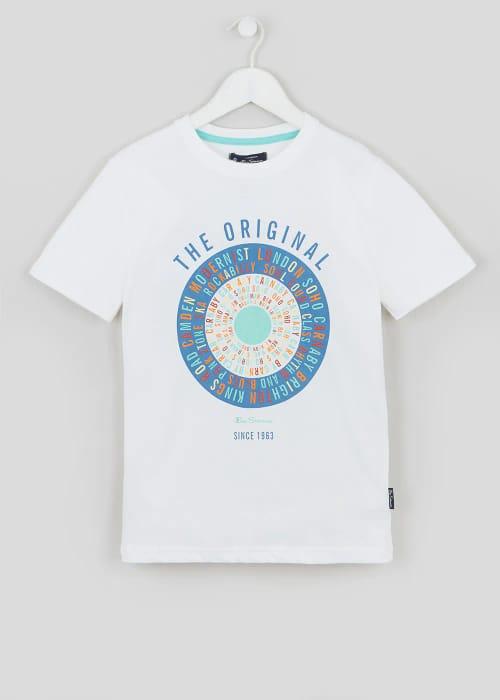 Cheap Boys Ben Sherman Mod Target T-Shirt (3-13yrs) Only £5