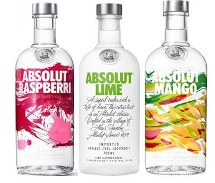Absolut Vodka, 70 Cl. Various Flavours at £15 at Amazon