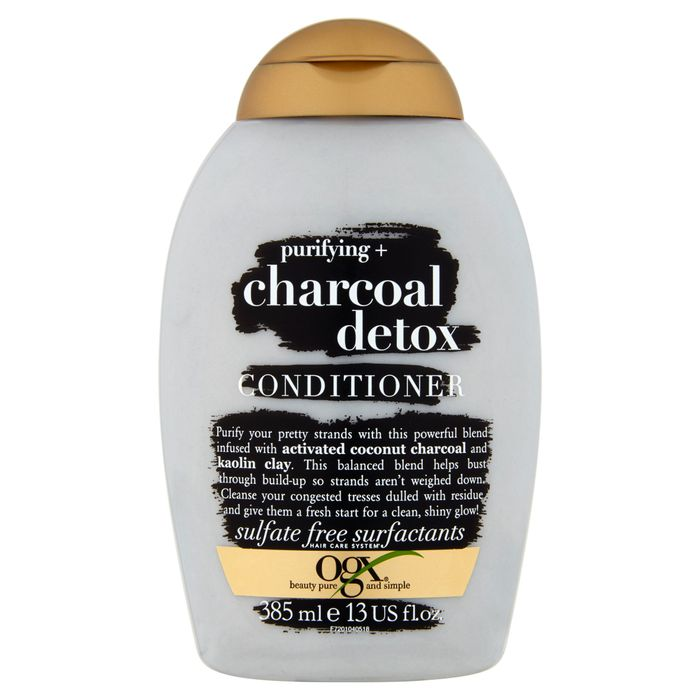 Cheap Ogx Purifying plus Charcoal Detox Conditioner 385Ml with 50% Discount!
