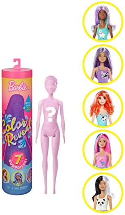 Best Price! Barbie Colour Reveal Doll Assortment at Amazon