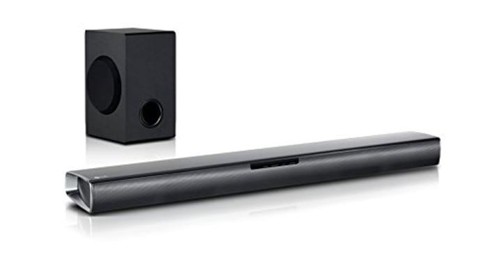 LG SJ2 Soundbar with 2.1 Channel 160 W Speaker Set (Black) - 46% Off!