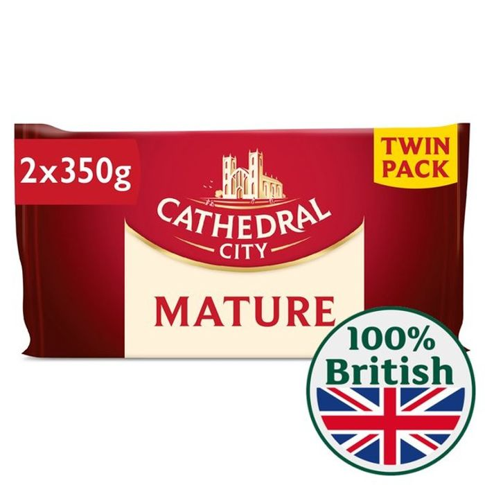 Cathedral City Mature Cheese Twin Pack - Save £1.50