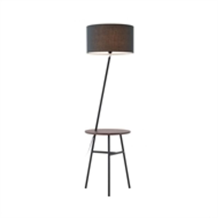 Amos Floor Lamp with Table - Save £29