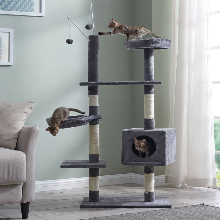 Large Cat Tree / Scratching Post & Activity Centre £24.95 Delivered