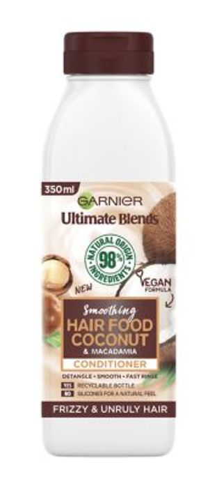 Garnier Ultimate Blends Smoothing Hair Food Coconut Conditioner