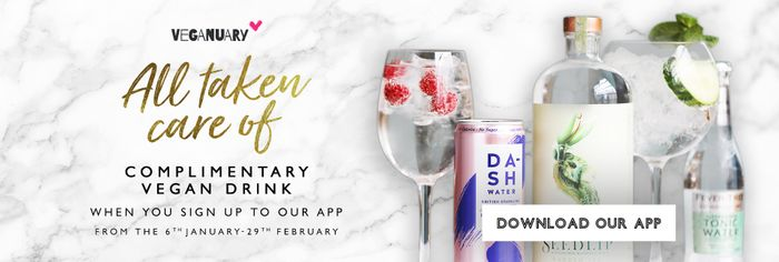 Free Vegan Drink From All Bar One!
