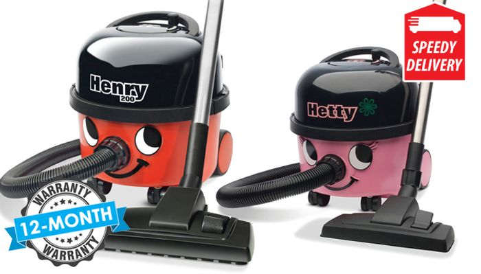 Henry or Hetty Vacuum Cleaner - Save 62%