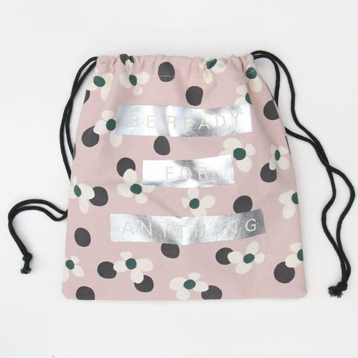 Floral Spot Bikini Bag at Carolinegardner