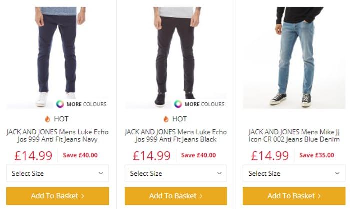 Jack N Jones Jeans