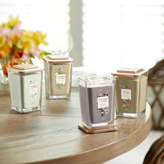 Cheap 2 X Yankee Candle Evelation Twin Wick Square Candles - Only £25!