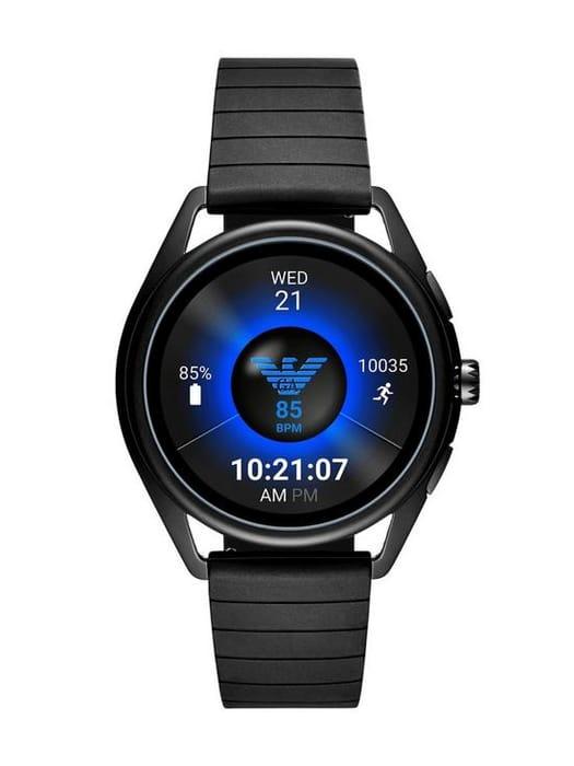 Cheap Emporio Armani Full Dislay Raven Dial Silicone Strap Smart Watch Save £50!