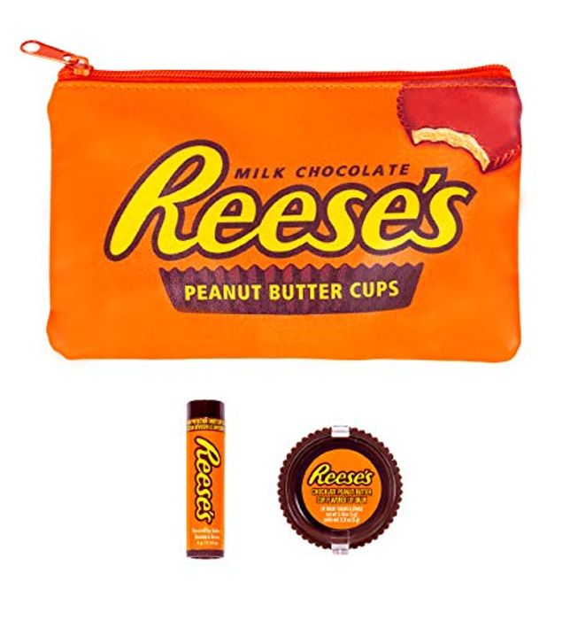 Reese's Scented Cosmetic Bag Gift Set