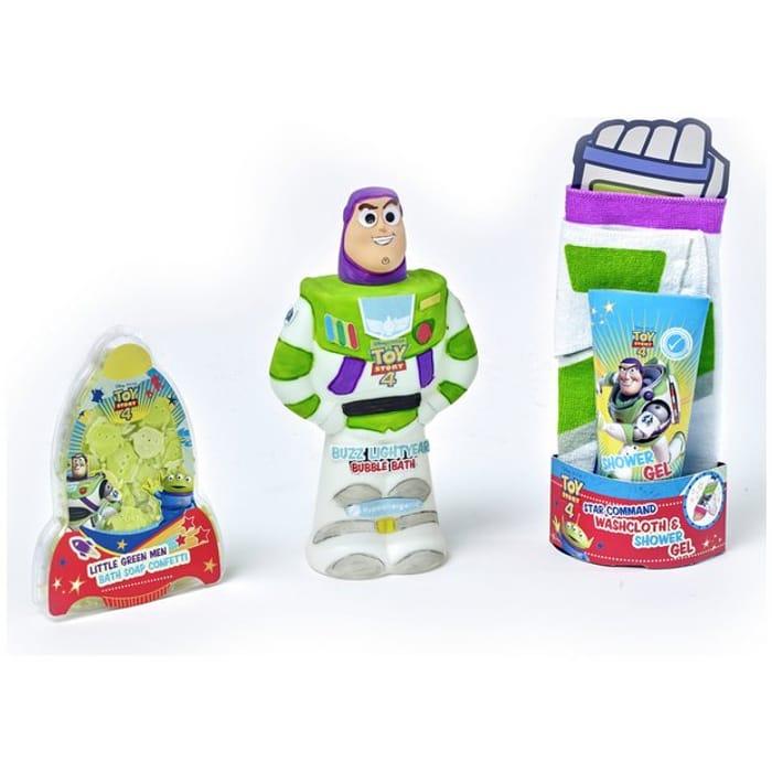 Disney Buzz Lightyear Bath Time Bundle