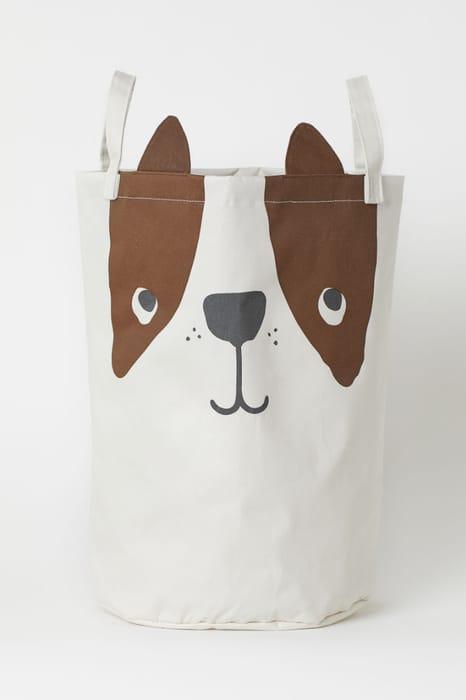 Dog Printed Large Storage Basket, Only £6.00!