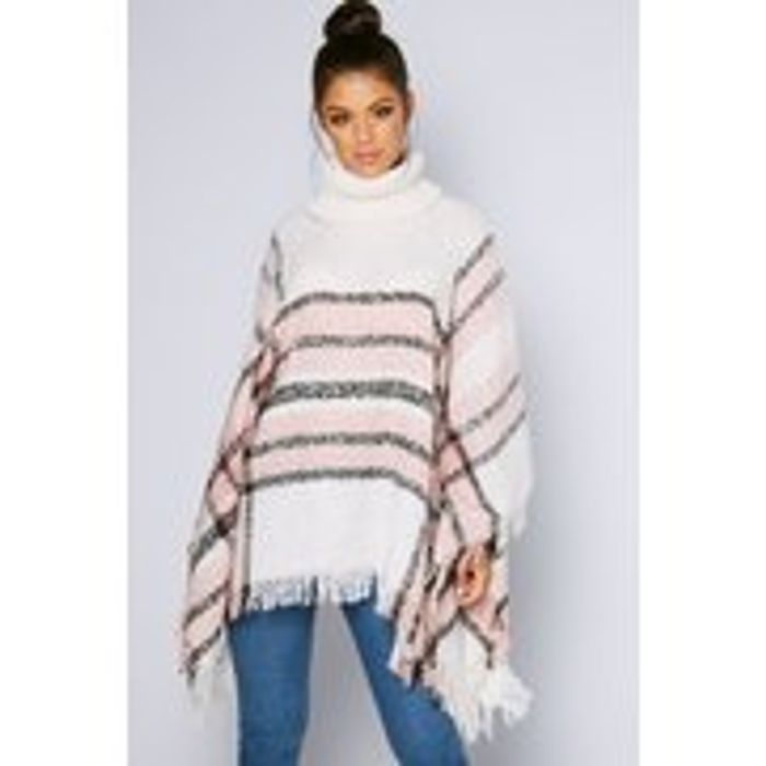 Oversized Poncho Down From £15 to £9