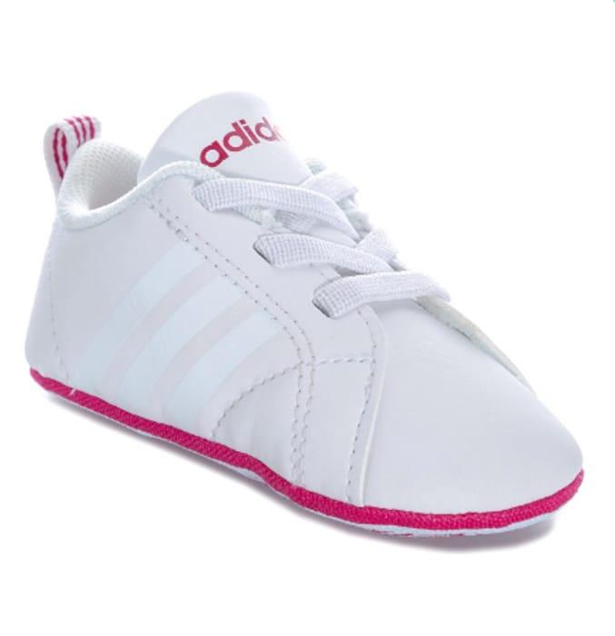 Adidas Baby VS Advantage Crib Shoe Down From £24.99 to £7.99