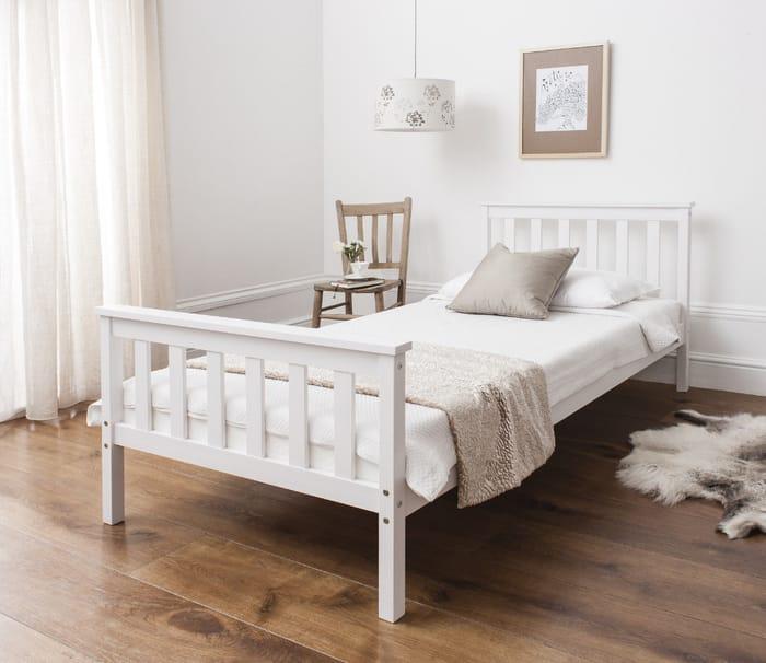 Bargain! Single Bed in White at Ebay