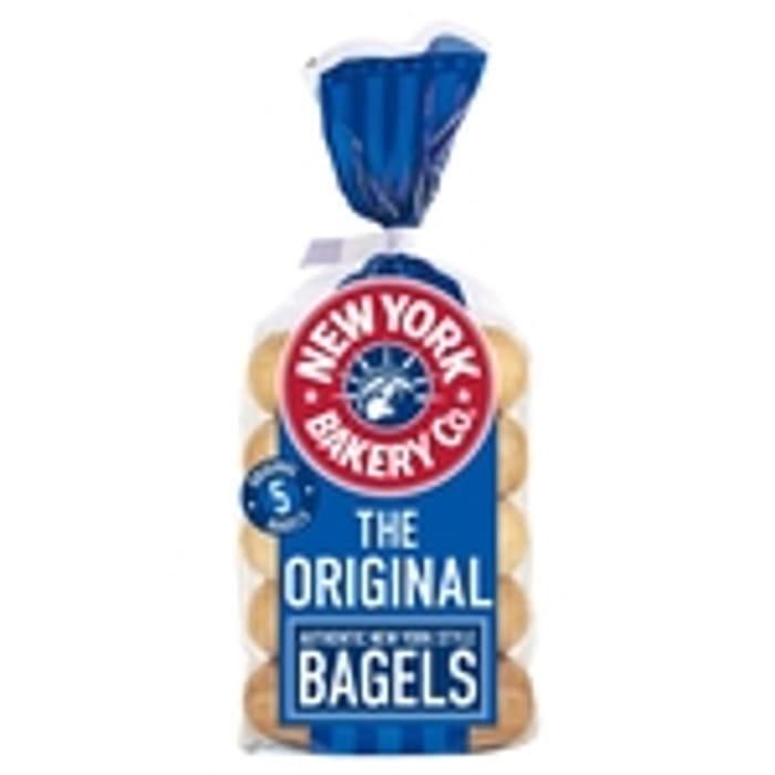 New York Bakery Bagels 5 Pack (Original / Sesame / 38%off at Morrisons