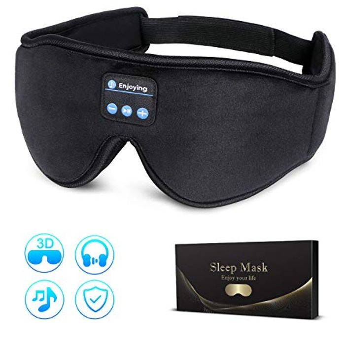 Best Price! Bluetooth Sleep Mask at Amazon