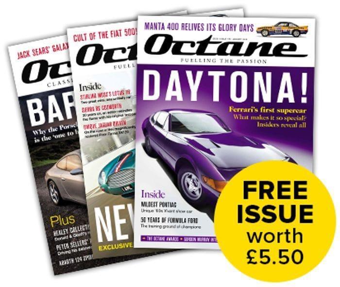 Free Copy of Octane Magazine.