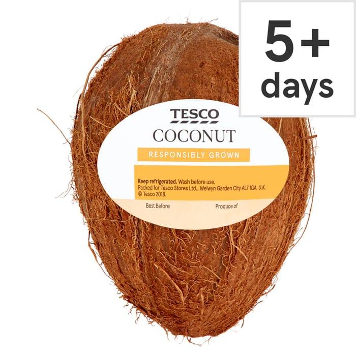 Tesco Rainforest Alliance Coconut