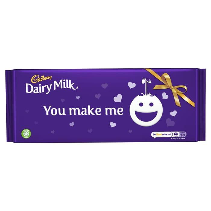 Large Cadbury Dairy Milk Chocolate Bar 360G