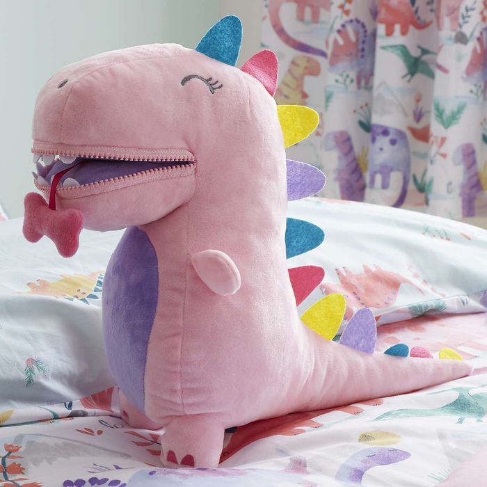 Pink Dinosaur Cushion Only £15