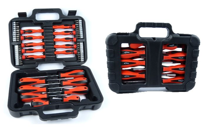 58-Piece Screwdriver and Bit Set with Carrycase + EXTRA 10% Off