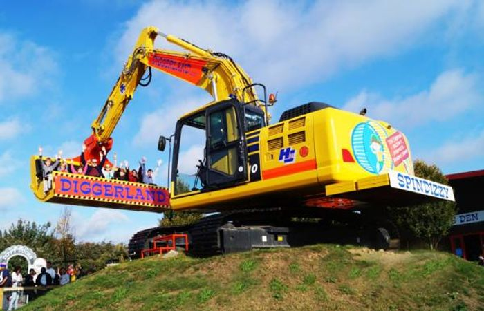 Half Price Tickets to Diggerland during Half Term!