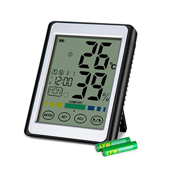 Cheap Room Thermometer Hygrometer with Alarm Clock, Only £9.99!