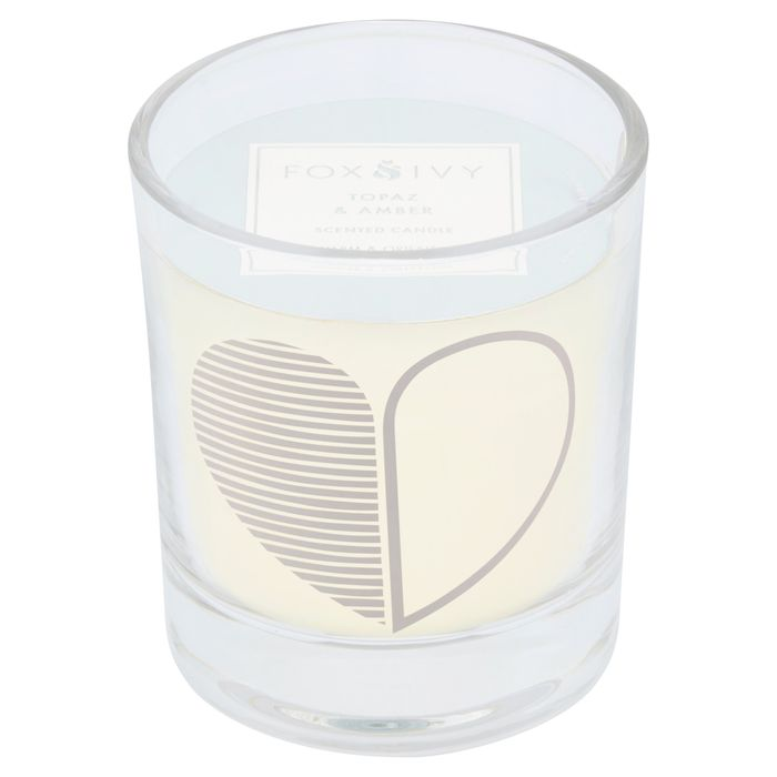 Fox & Ivy Scented Alphabet Candle - Heart