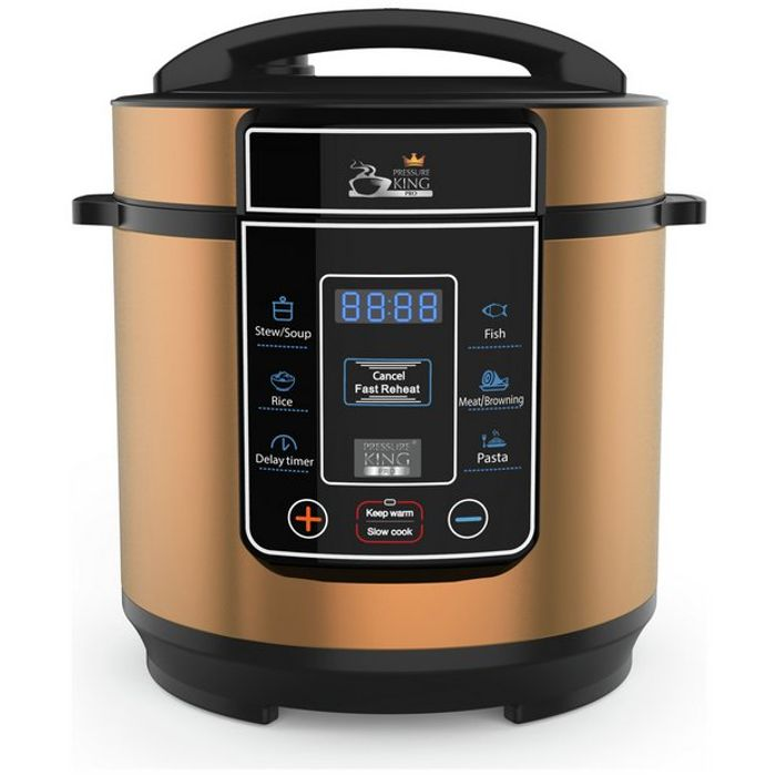 8 in 1 King Pro Pressure Cooker