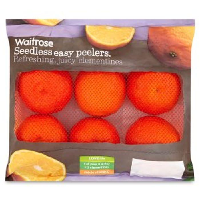 Seedless Easy Peelers Clementines 600g