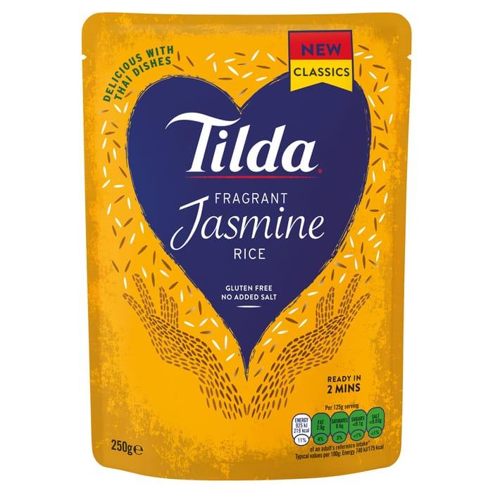 Cheap Tilda Jasmine Fragrant Rice 250G - Only £1!