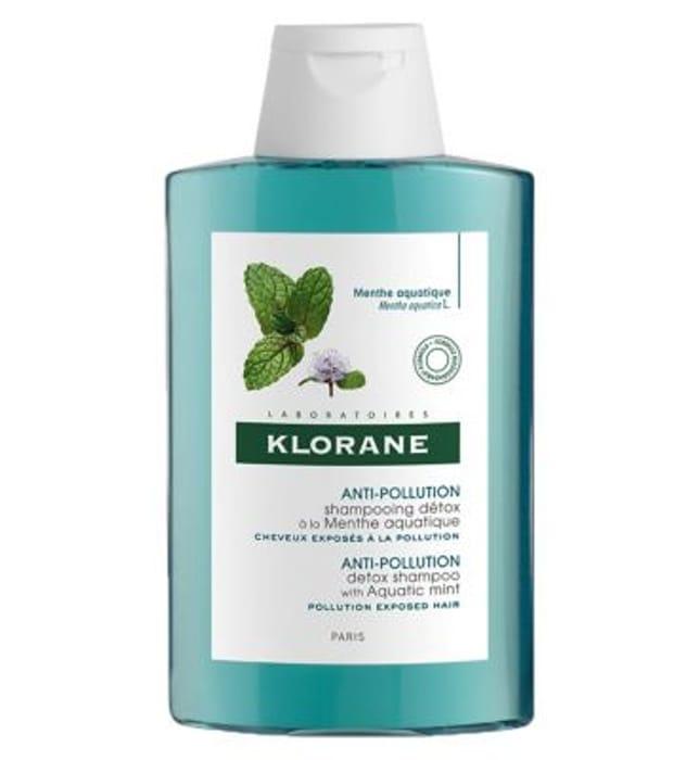 Klorane Aquatic Mint Cleansing Shampoo 200ml