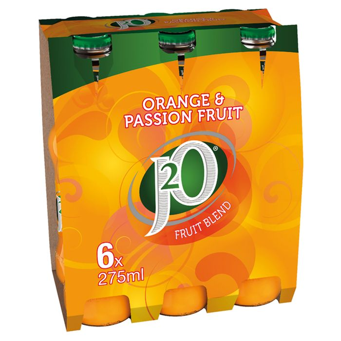 J20 Orange & Passion Fruit 6 X 275Ml