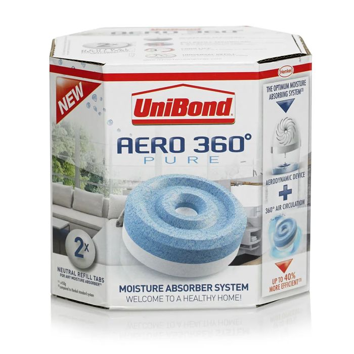 Unibond 450g Aero 360 Moisture Refill 2 Pack