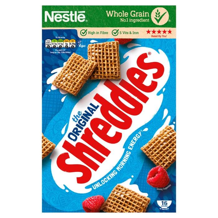 Nestle Shreddies Original Cereal 675G Was £3