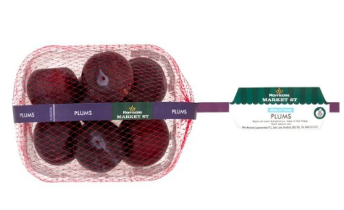 Morrisons Plum Punnet 400g Down From £1 to £0.69