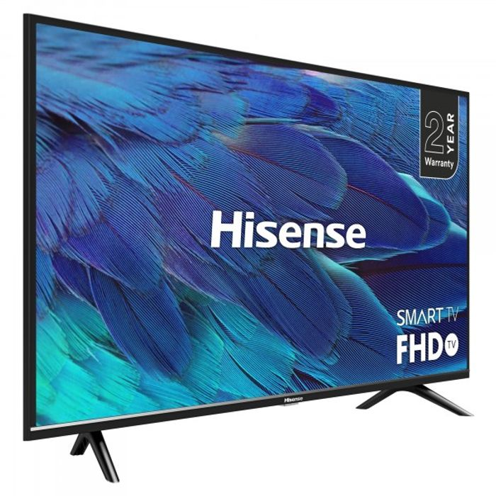 """*SAVE £60* Hisense 40"""" FHD LED Smart TV - Freeview Play £219 with Code"""