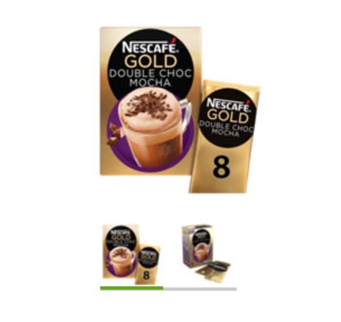 Nescafe Gold Double Choca Mocha Coffee Sachets